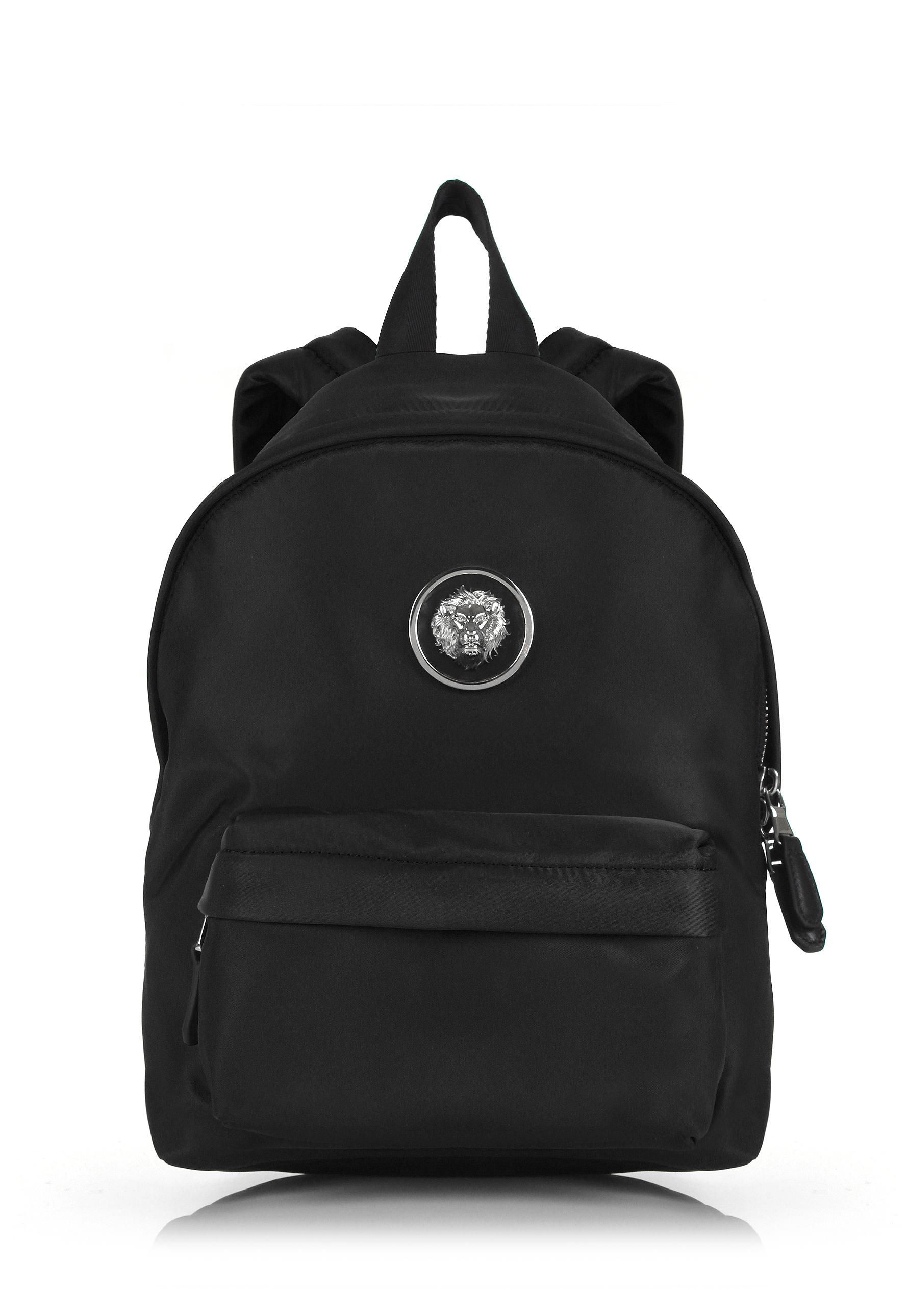 eda359f9367b Lyst - Versus Small Nylon Lion Head Backpack Black nickel in Black