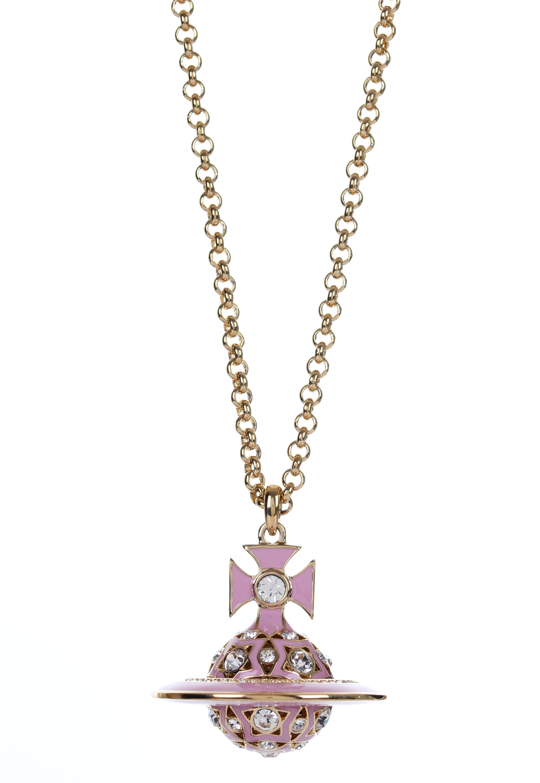 Lyst Vivienne Westwood Brianna Orb Pendant Yellow Gold