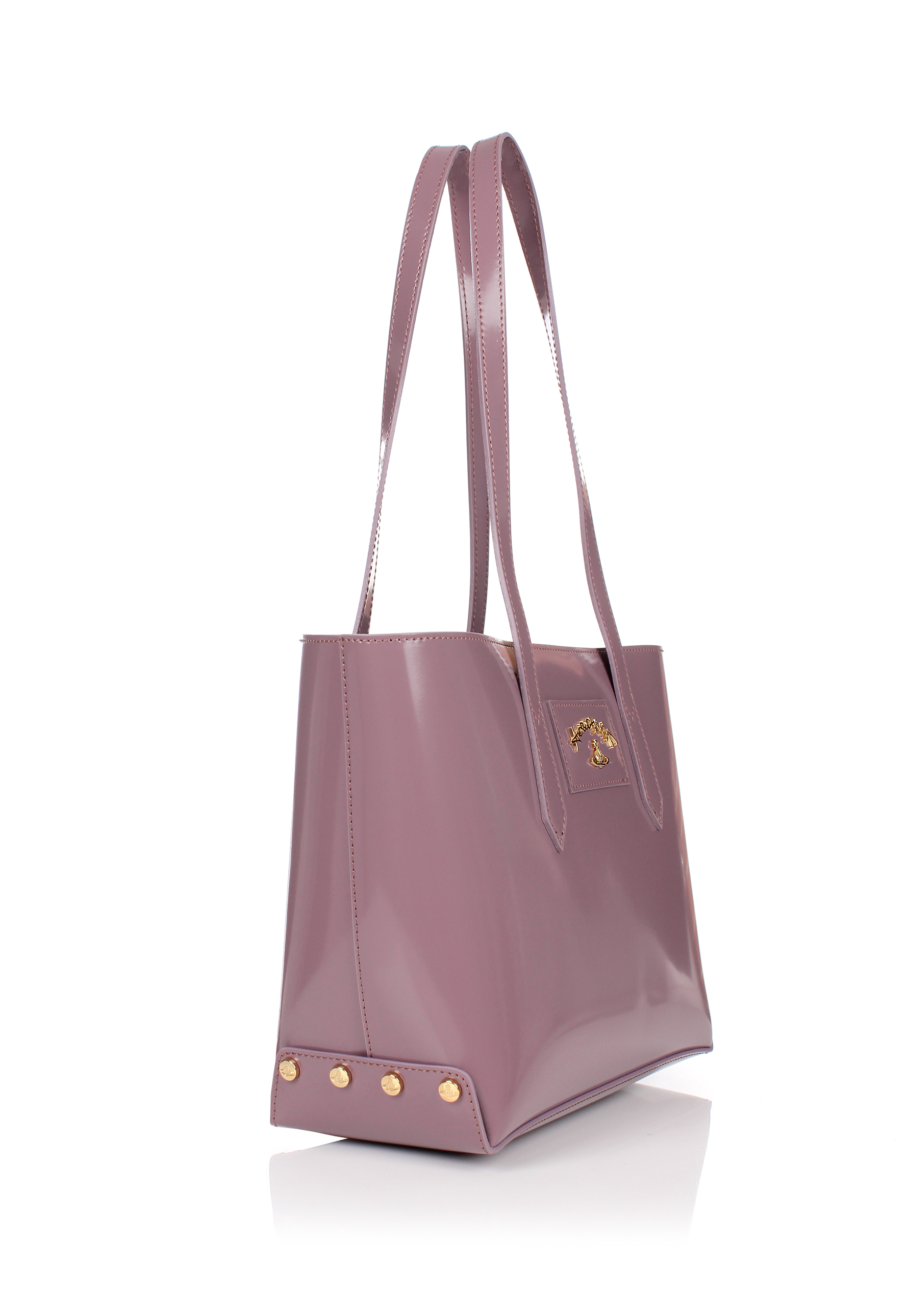 52c99e6792 Lyst - Vivienne Westwood Newcastle 7252 Small Shopper Pink in Pink