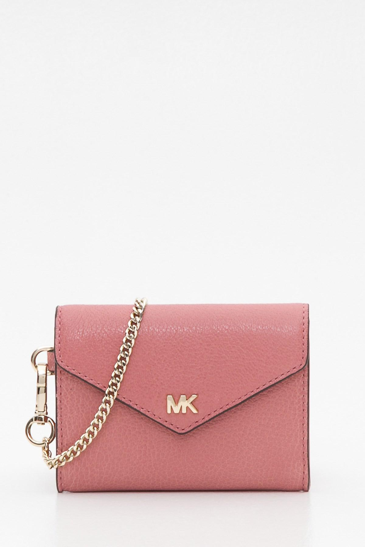 aac1bafb57e7 MICHAEL Michael Kors. Women s Michael Kors Cryll Chain Small Pink Wallet