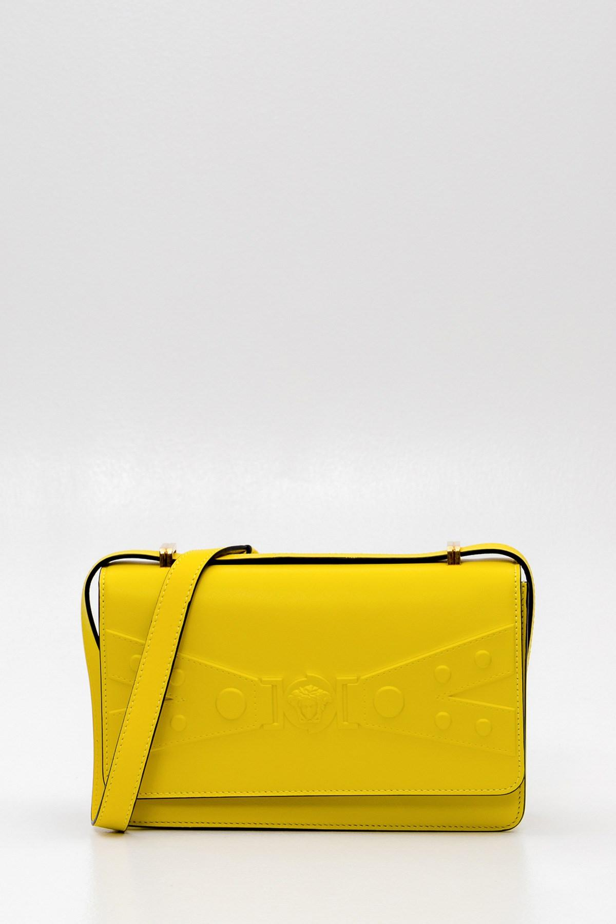 415a48e363 Versace Tribute X Shoulder Bag in Yellow - Lyst