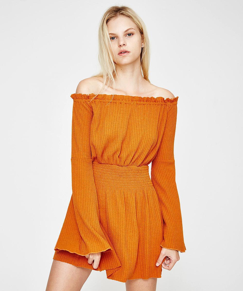 fe3858d77d75 Somedays Lovin Sky For Love Dress Rust in Orange - Lyst