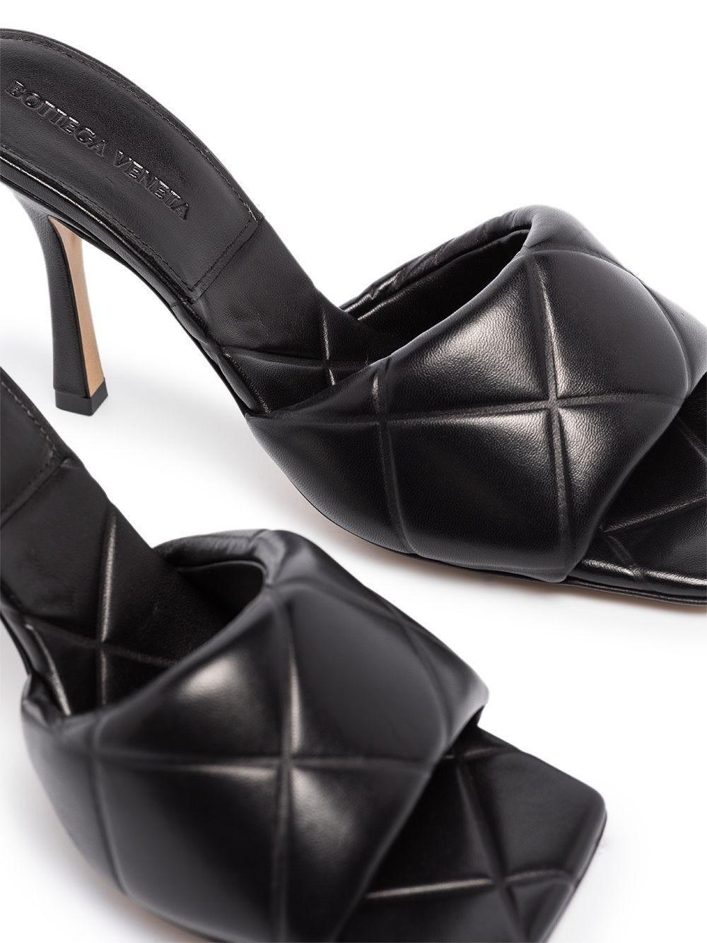 Bottega Veneta Leather Bv Lido 90 Mules In Intrecciato