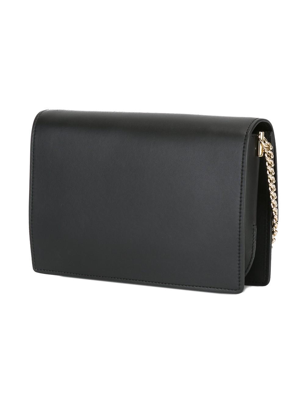 Roger Vivier - Micro 'vivier' Crossbody Bag - Women - Calf Leather - One Size in Black