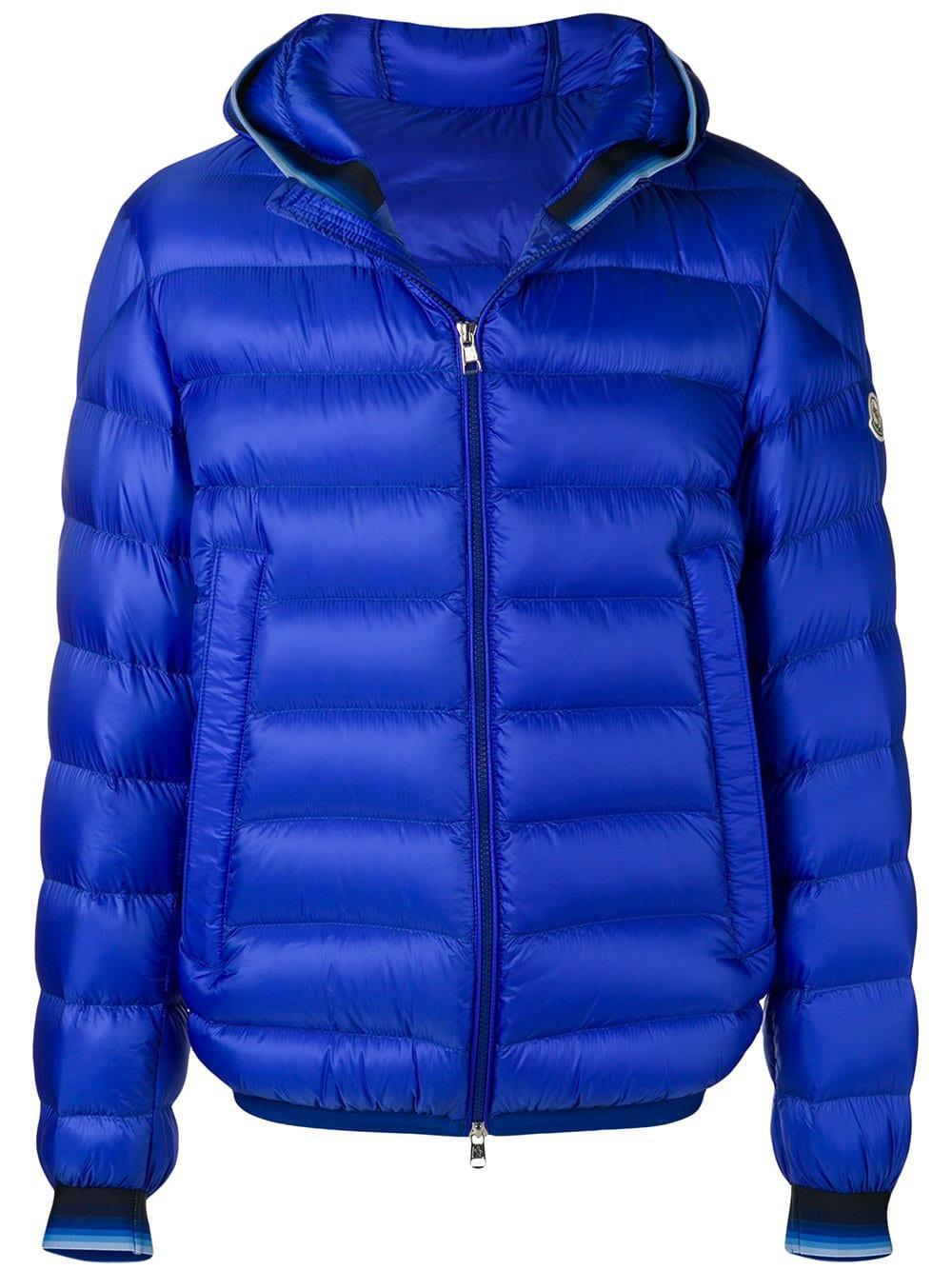 Moncler. Men's Blue Avrieux Jacket