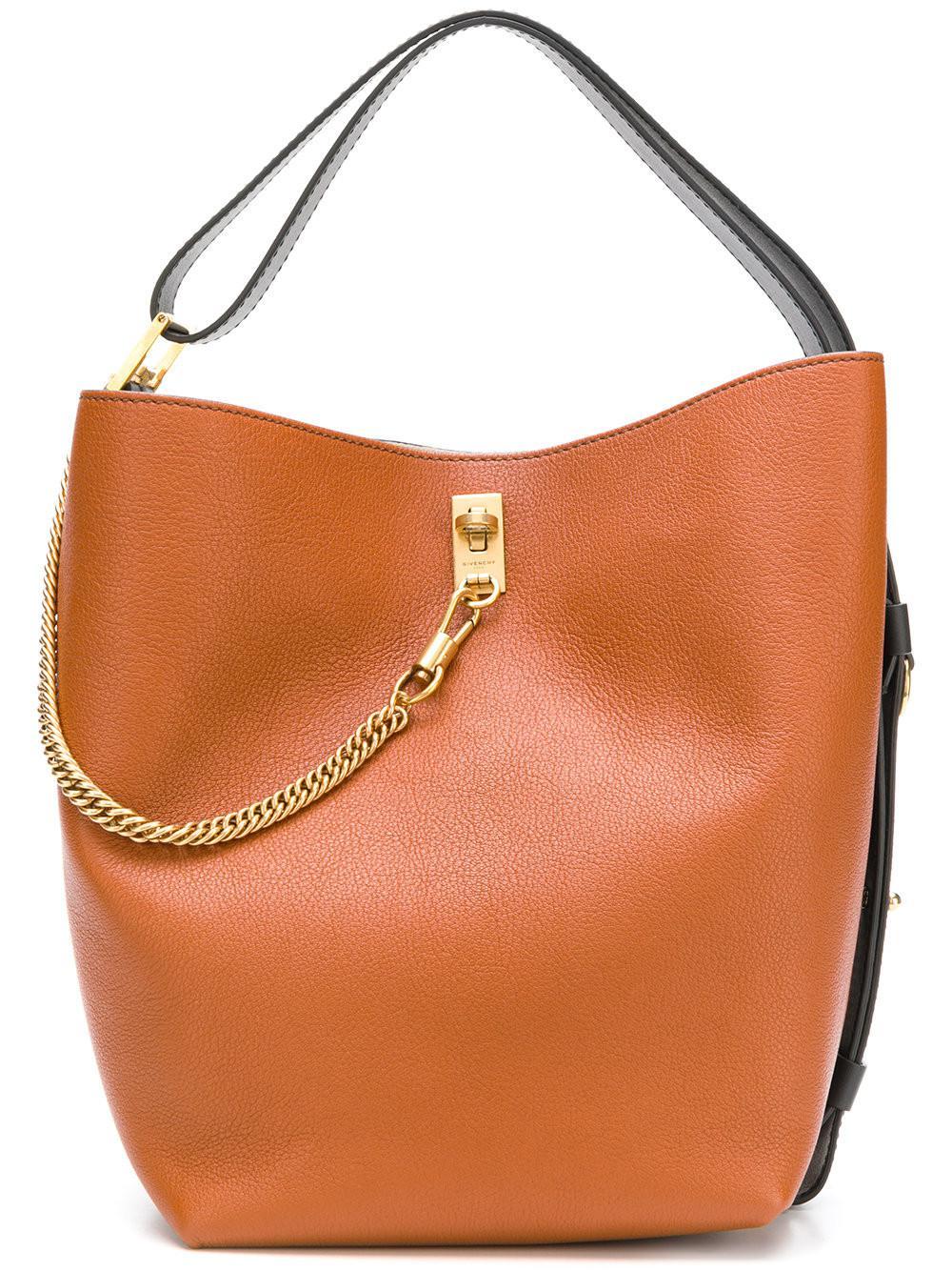 b9db7573f892 Givenchy Gv Bucket Bag in Brown - Lyst