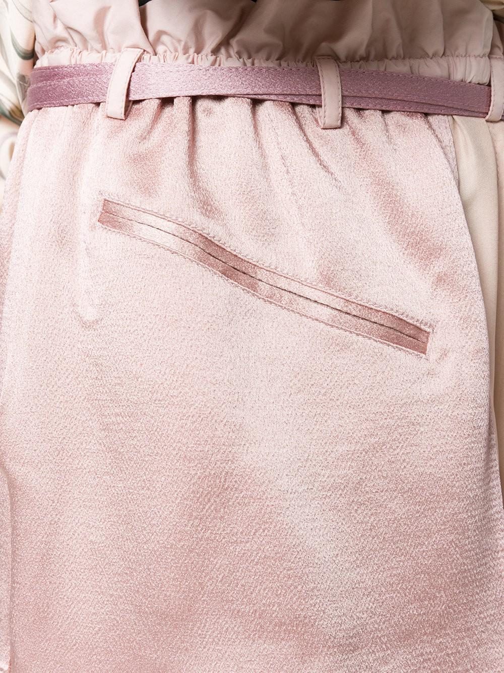 Outlet Wide Range Of Clearance Buy layered shorts - Pink & Purple Valentino Buy Cheap Fashion Style 6uzrcX4FjO