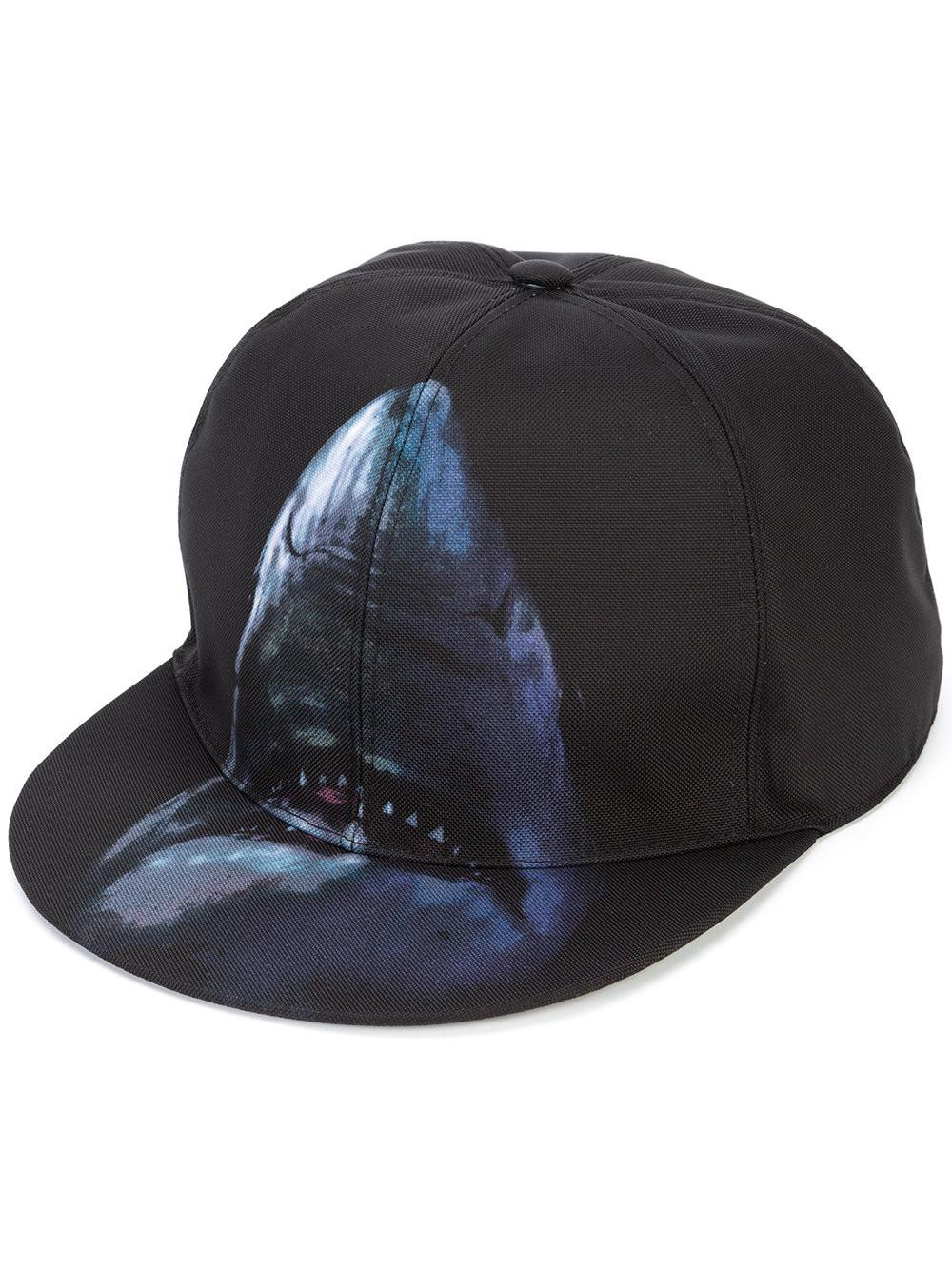 9ab34d3a918 Givenchy Shark Print Cap for Men - Lyst