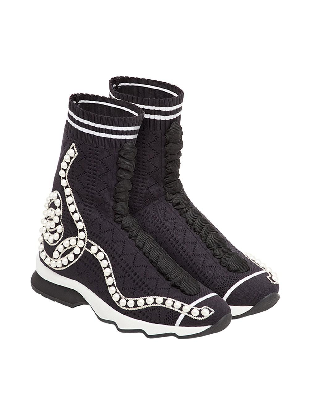 Fendi Open knit sneakers NMy29CywY