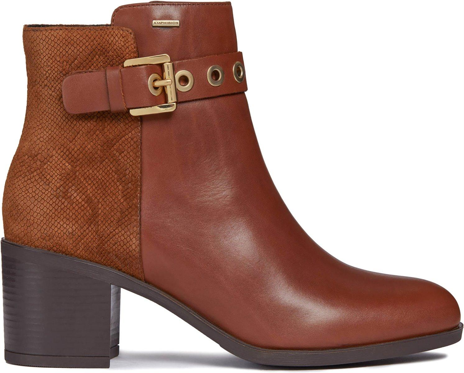 d3ede86739e Geox Glynna Np Abx in Brown - Lyst