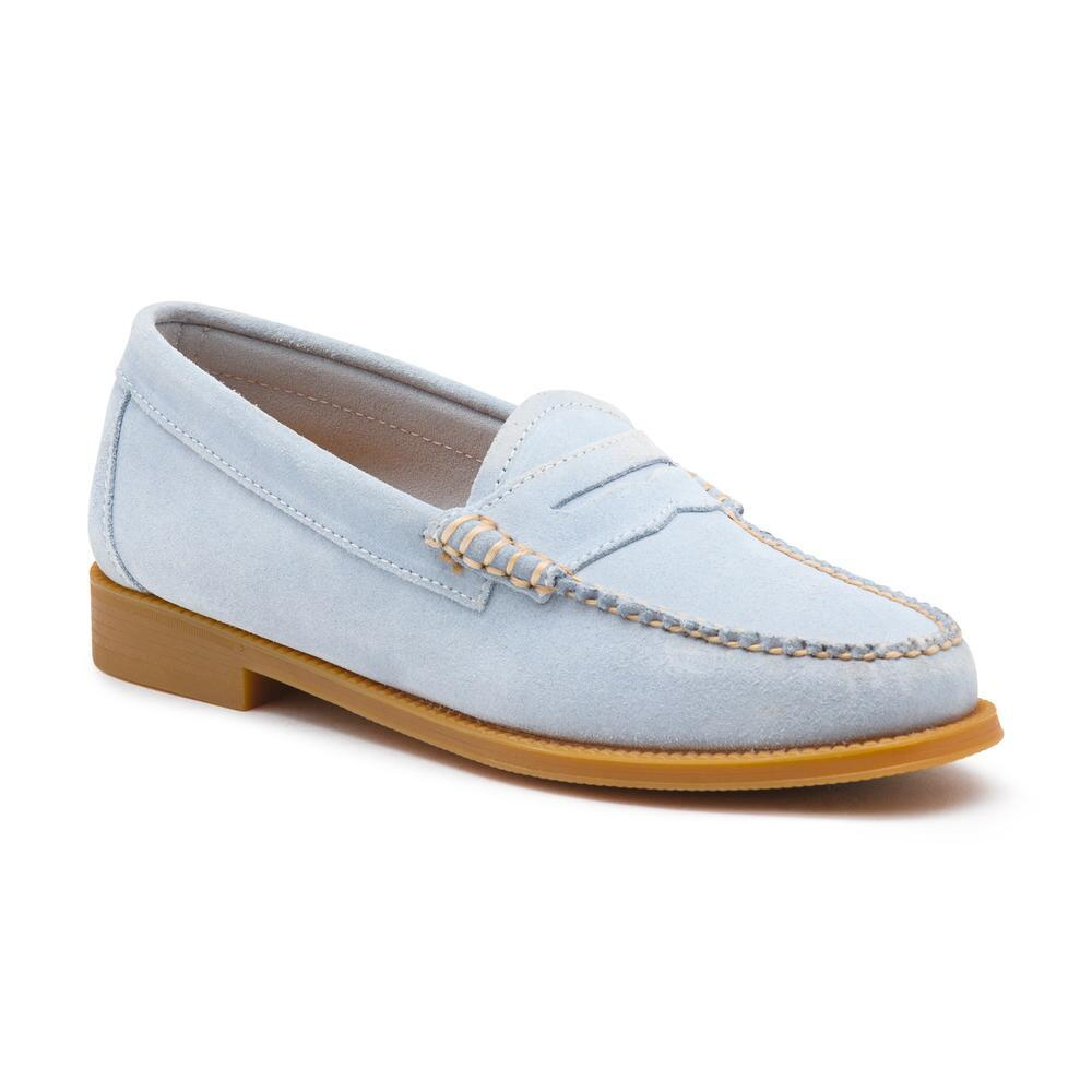 3482a3891ac Lyst - G.H.BASS Whitney Easy Suede Weejuns in Blue