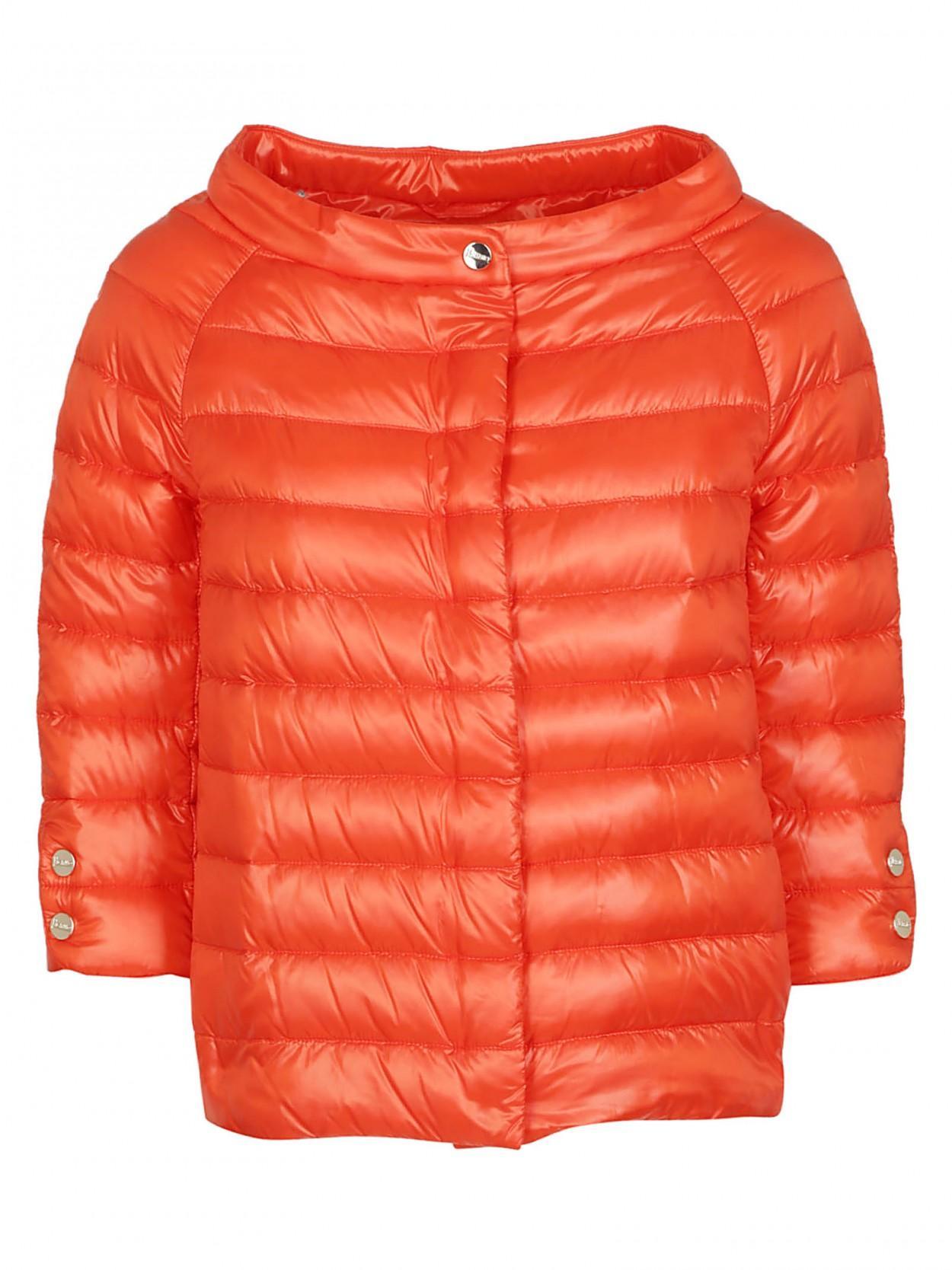 reputable site c442d db55c Women's Orange HERNO piumino light arancio 100 grammi