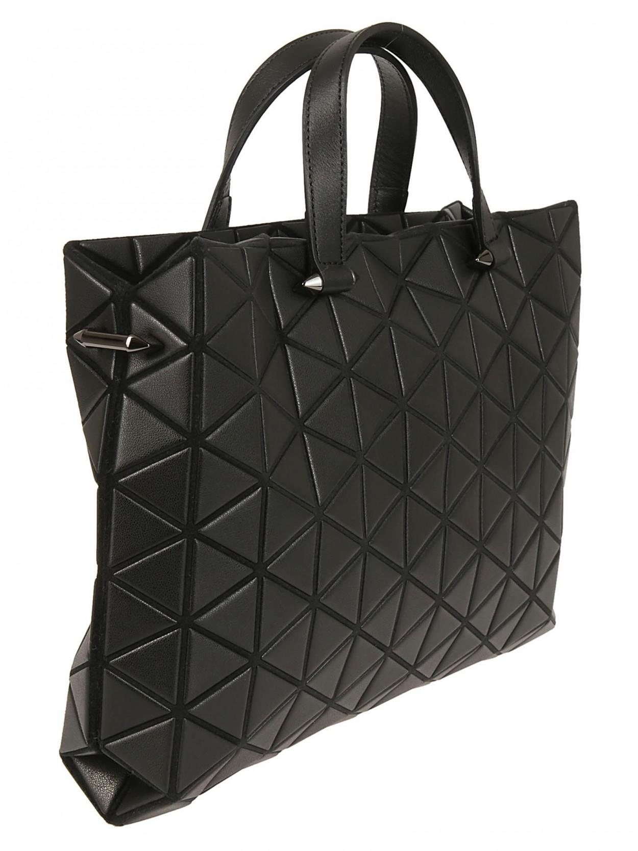 Lyst - Bao Bao Issey Miyake Tonneau Matte Small Boston Bag in Black - Save  7% 449f489ba3917