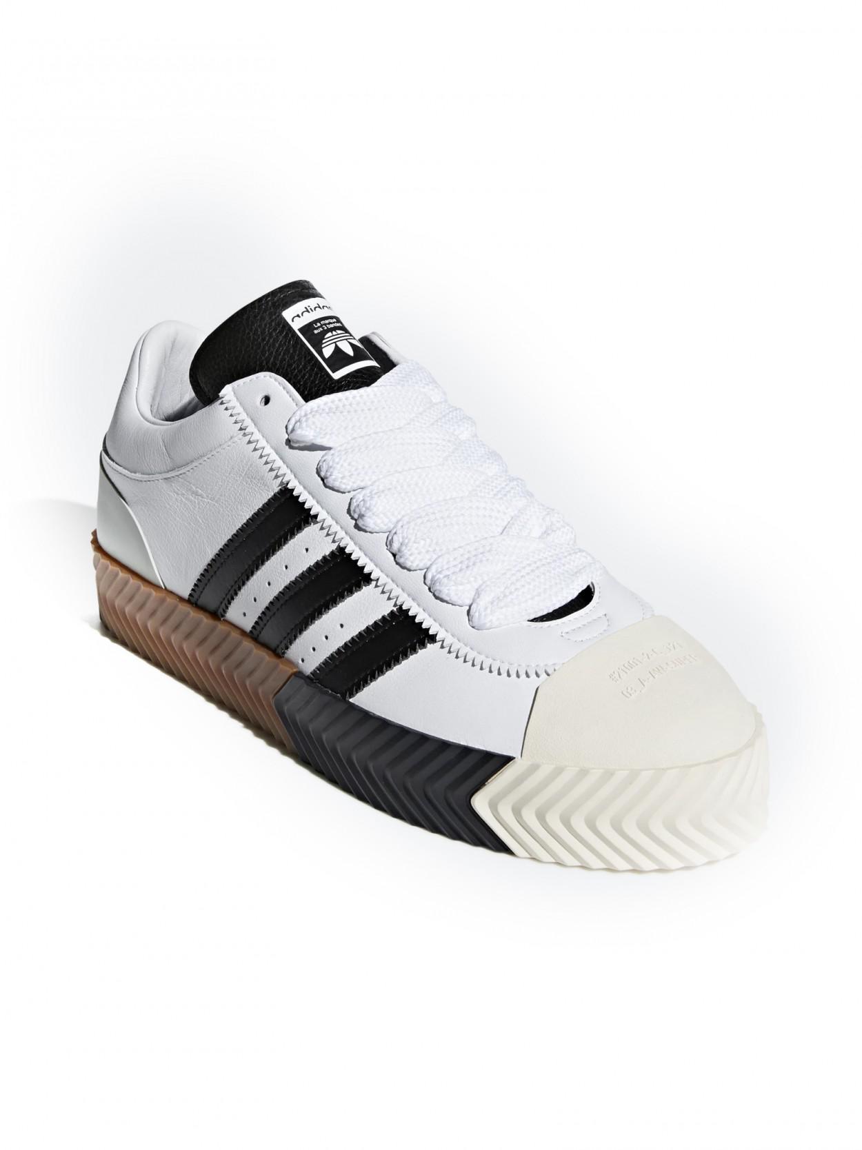 buy online 0b043 79d1f Lyst - Alexander Wang Skate Super Sneaker in White