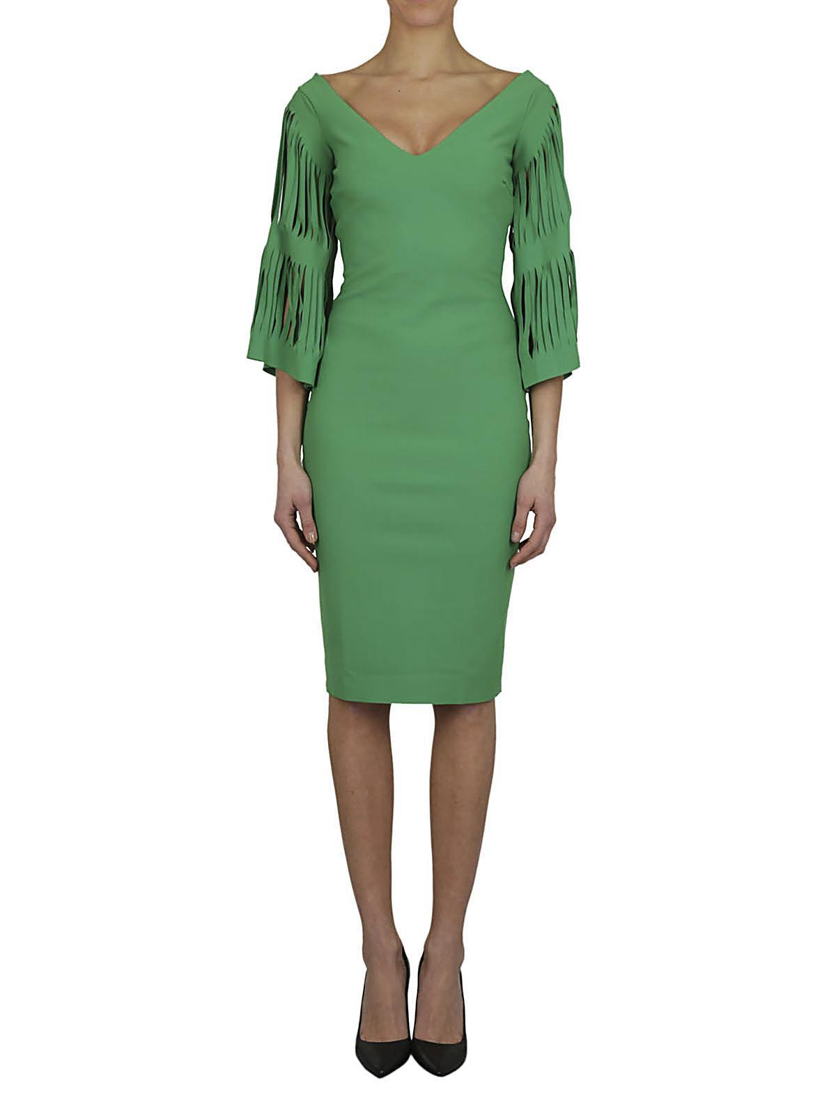 c591f29ace3d Lyst - Chiara Boni CHIARA BONI Abito tubino menta in Green