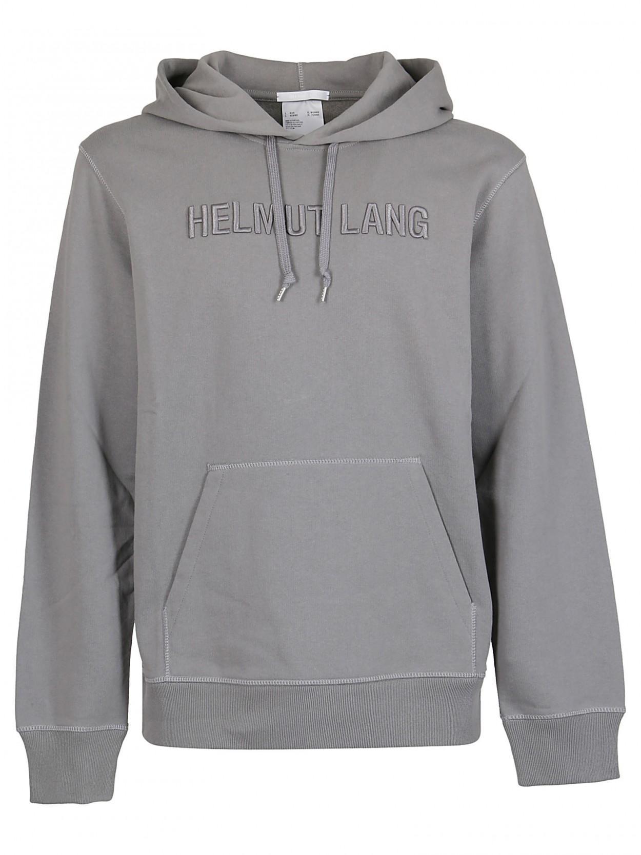 nuovo prodotto af927 aecec Men's Gray HELMUT LANG Felpa grigia con logo