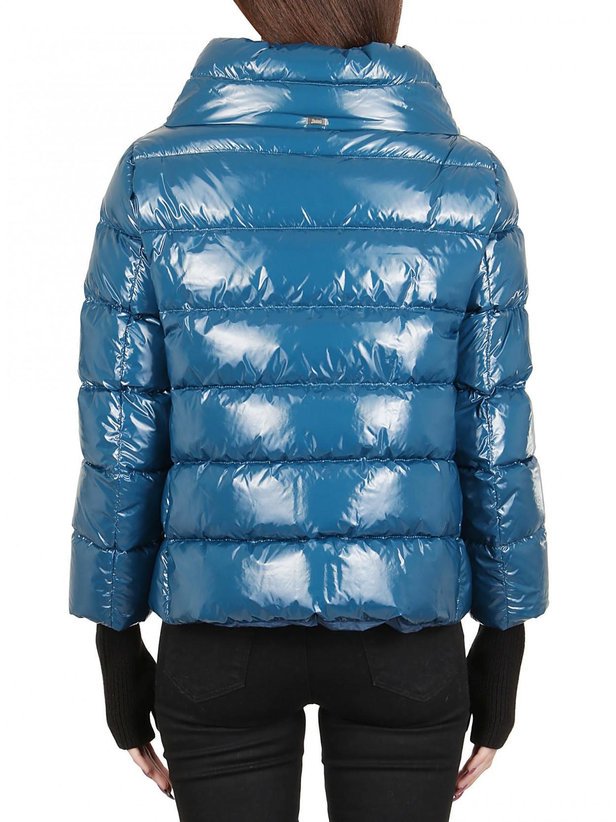huge discount 6582f 987ae Women's Blue HERNO piumino lucido oceano