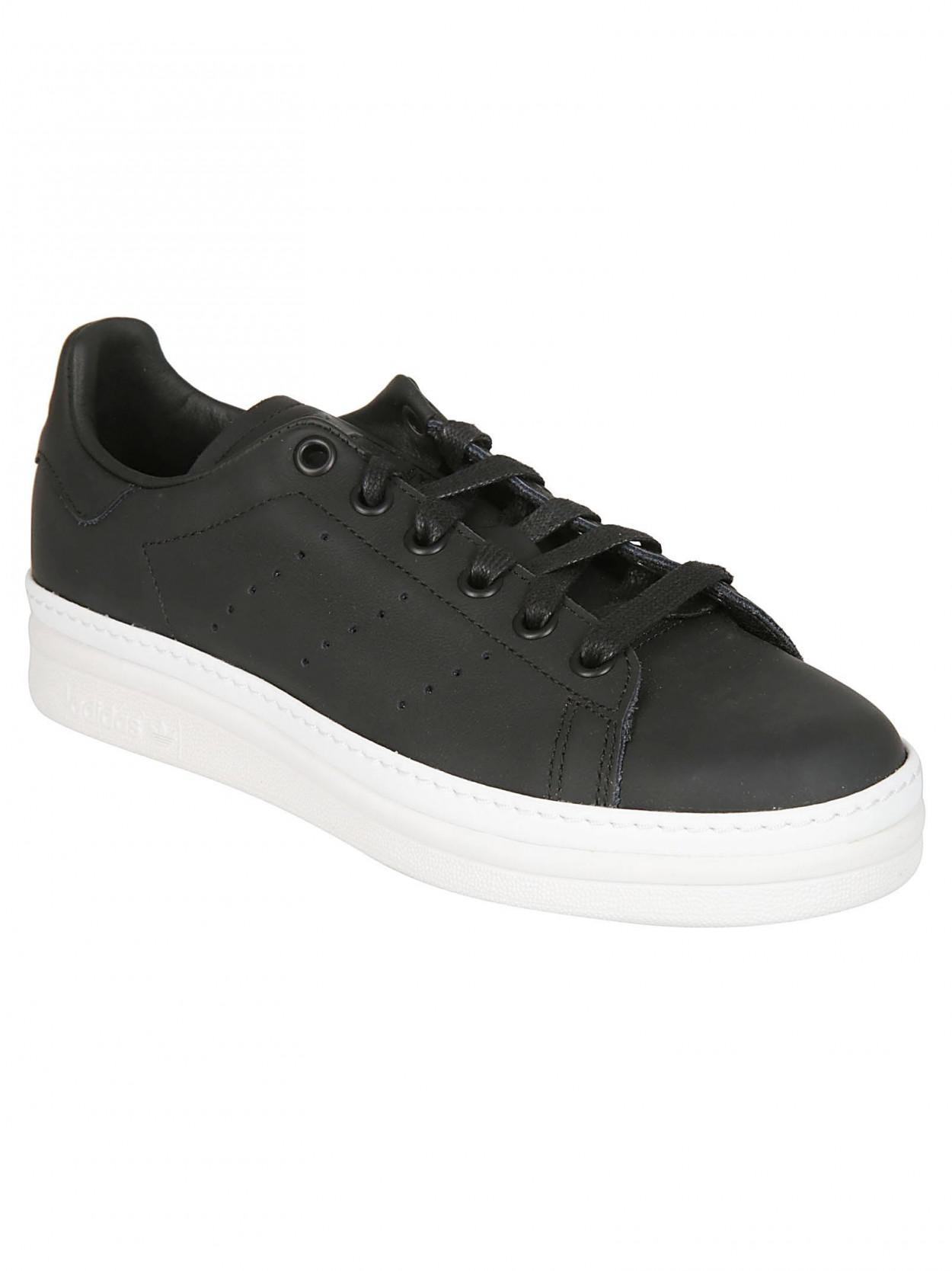 20f884c3e1a Lyst - adidas Originals ADIDAS ORIGINALS Sneaker stan smith new bold nera  in Black