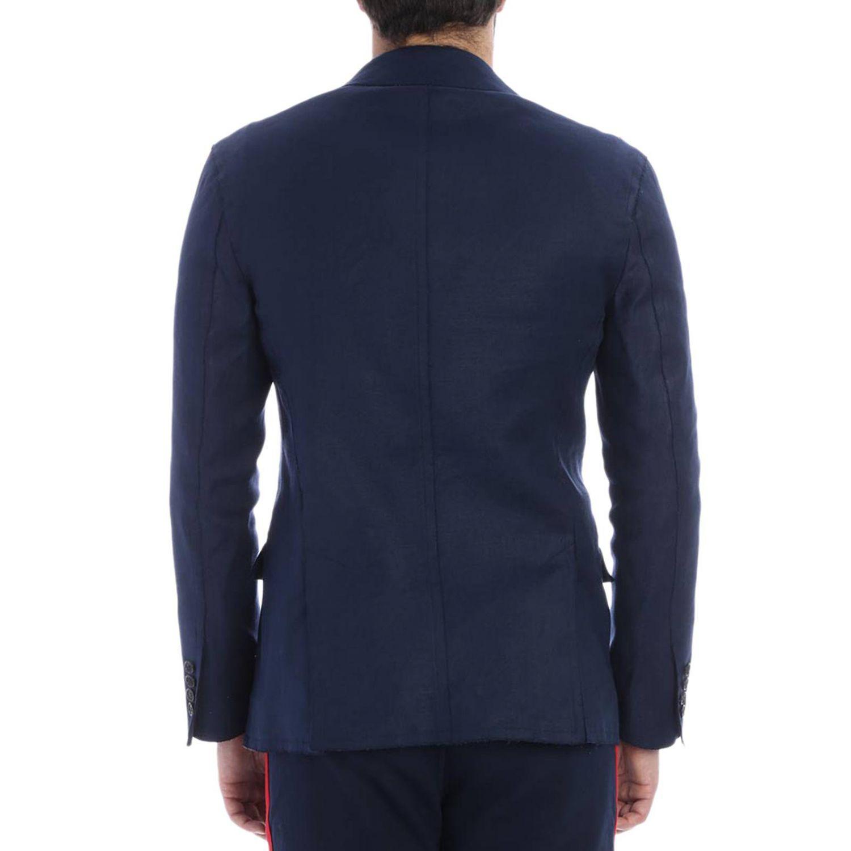 Ermanno Scervino Men's Jacket in Blue for Men
