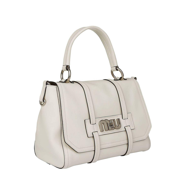 Miu Miu - White Crossbody Bags Women - Lyst. View fullscreen 5b2b6bfbe7bc1