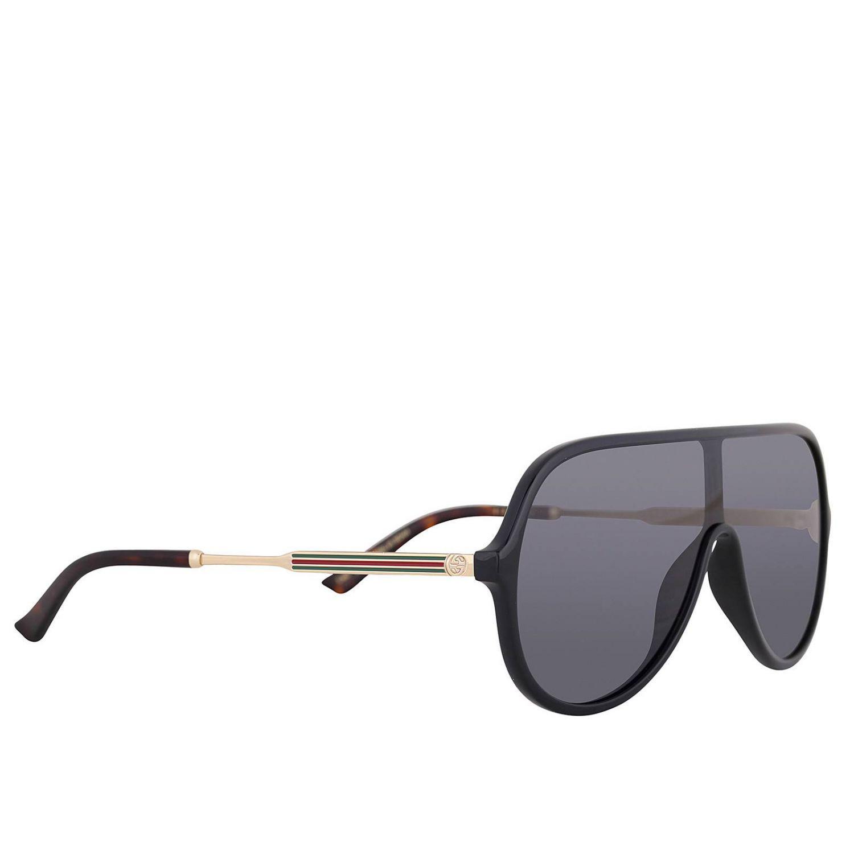 46cbd2e5130 Gucci Glasses Eyewear Men in Black for Men - Lyst