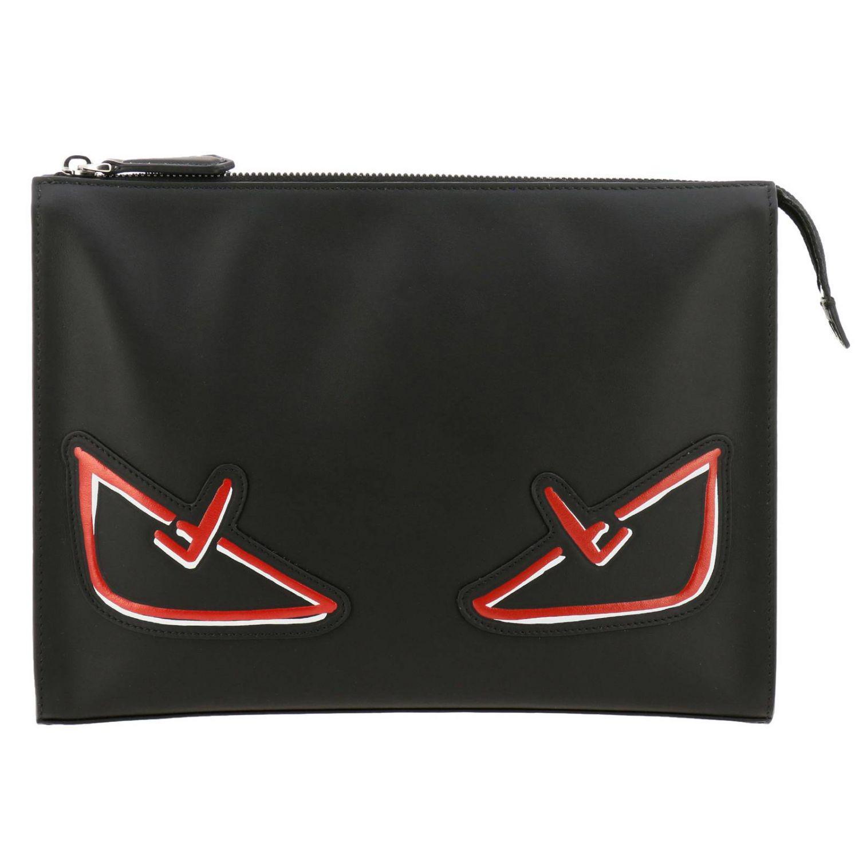 3f388c42d5 Lyst - Fendi Briefcase Bags Men in Black for Men