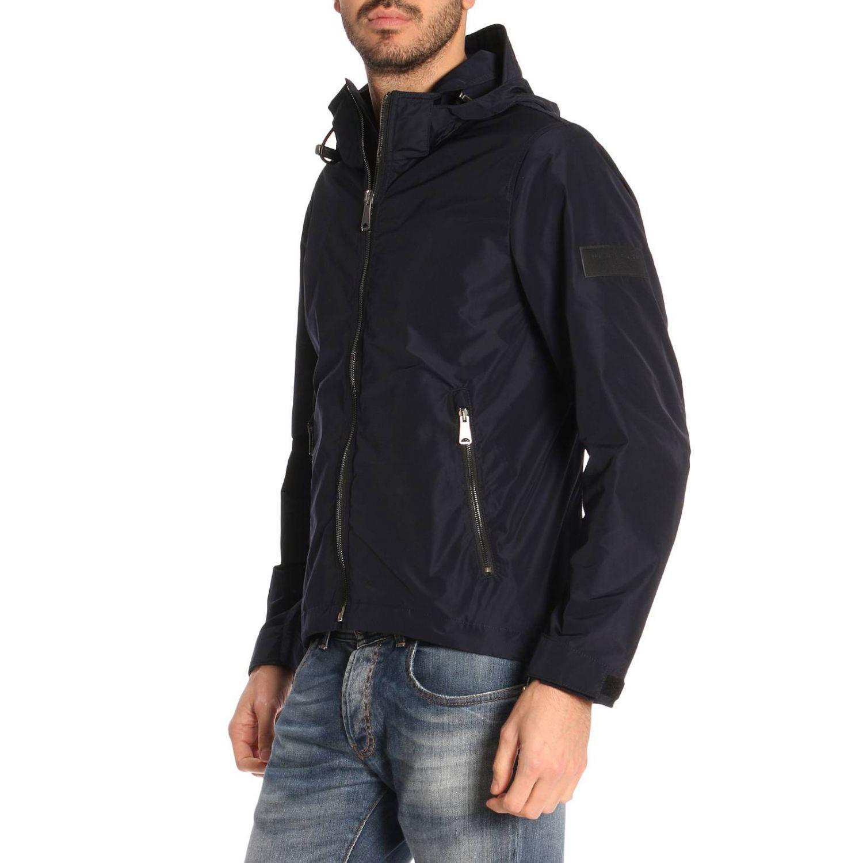 Burberry Synthetic Jacket Men in Navy (Blue) for Men