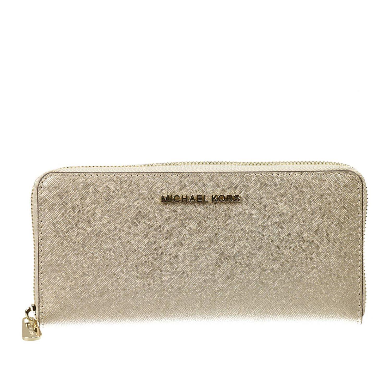 Michael Michael Kors Michael Kors Women S Wallet In Gray