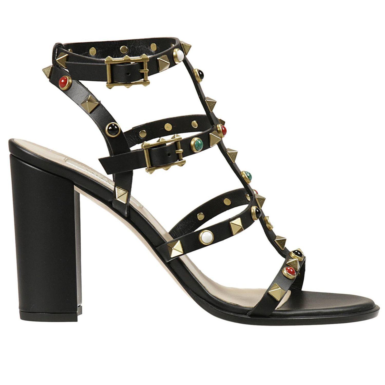 Valentino Womens Heels In Black  Lyst-8340