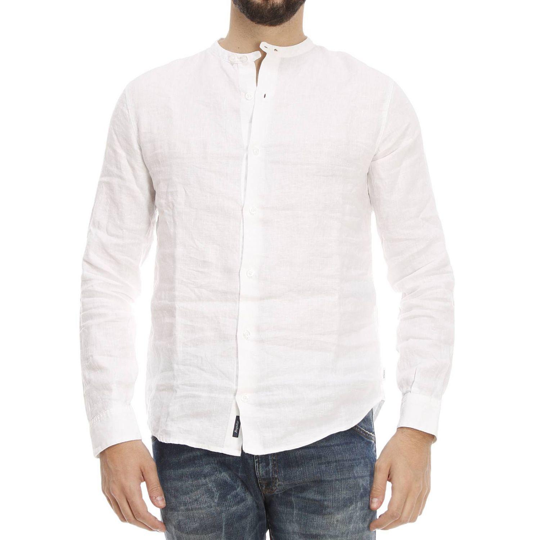 armani jeans giorgio armani mens shirt in white for men