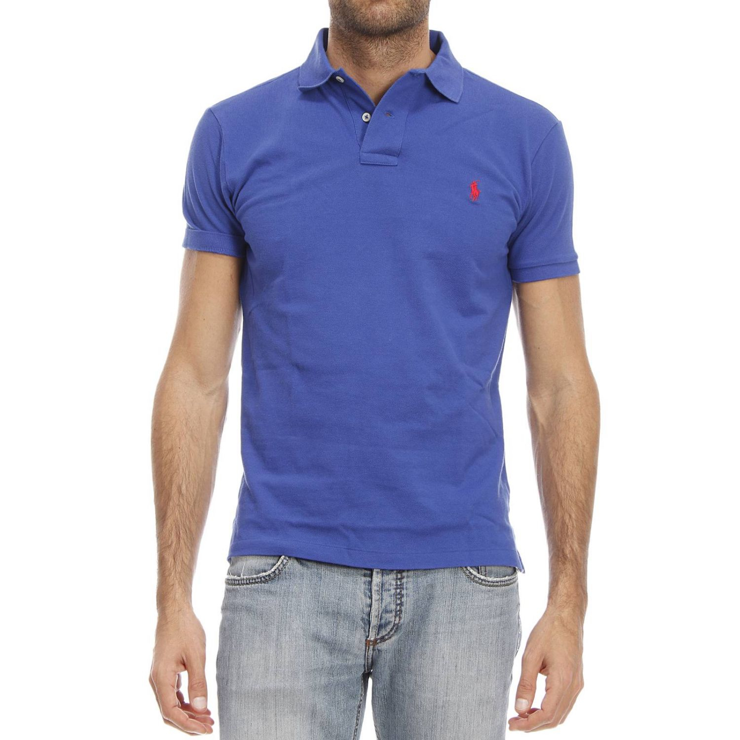 lyst polo ralph lauren t shirt in blue for men. Black Bedroom Furniture Sets. Home Design Ideas