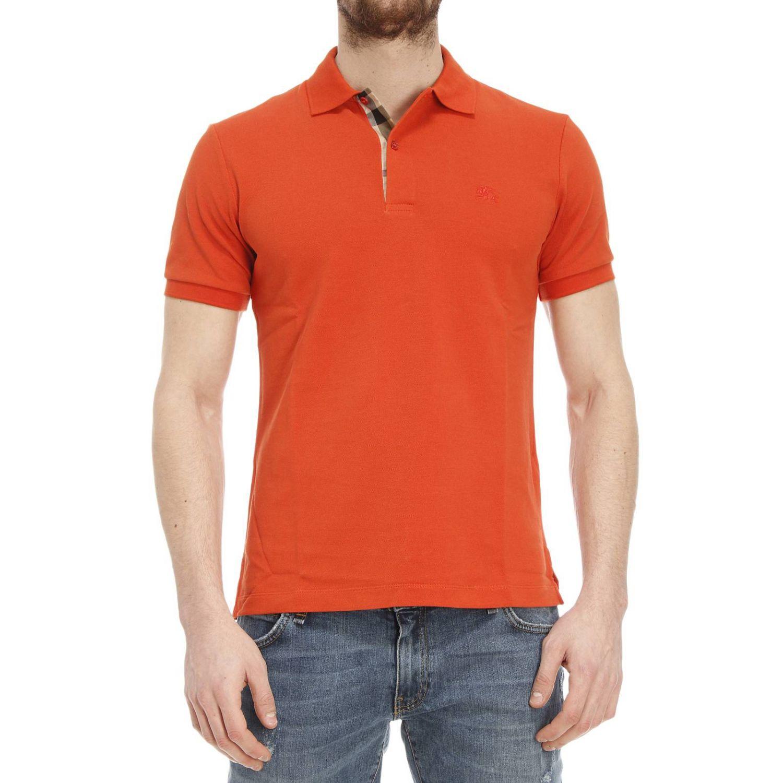 Burberry T-shirt In Orange For Men