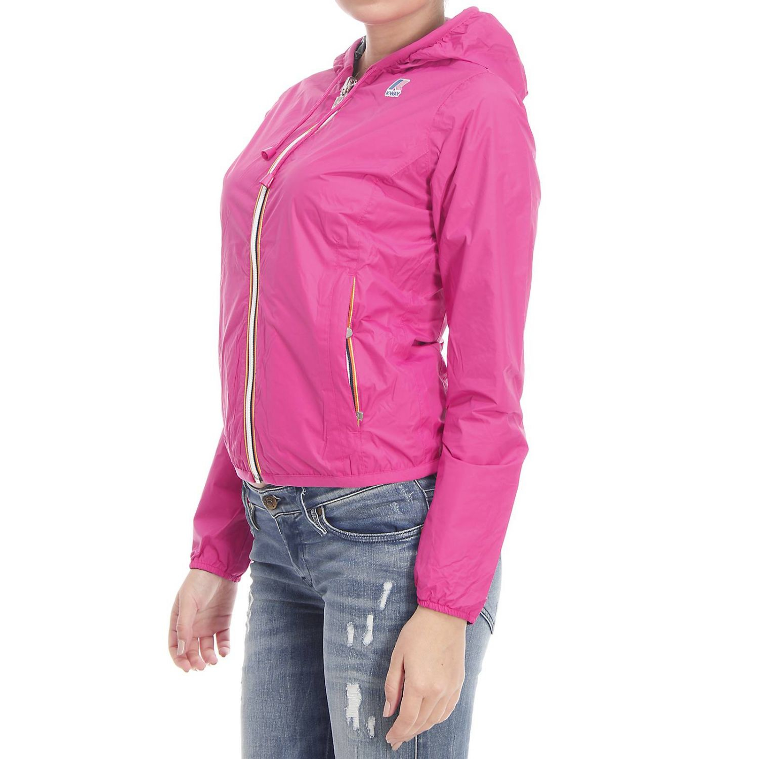 Lyst K Way Women S Jackets In Pink
