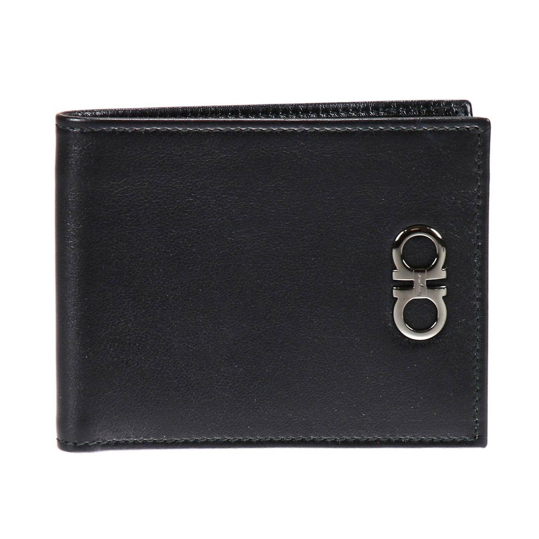 Ferragamo Men s Wallet in Black for Men Lyst cf4948a741aae