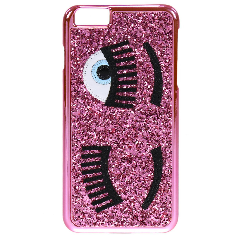 lyst chiara ferragni case women for iphone 7 in pink. Black Bedroom Furniture Sets. Home Design Ideas