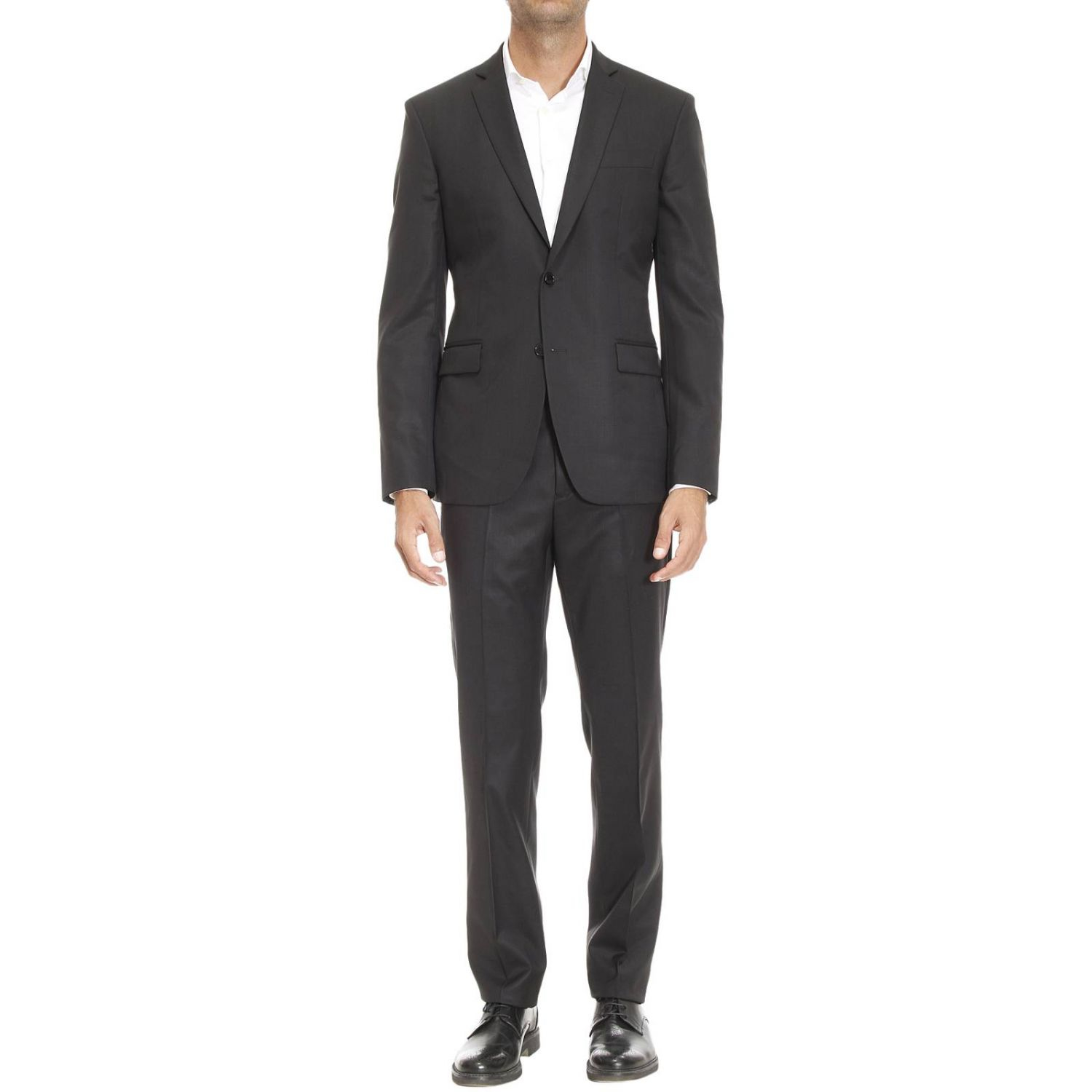 Versace Suit Man In Black For Men