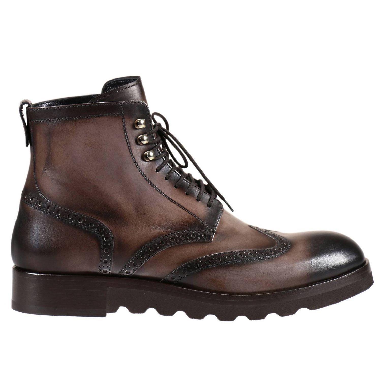 Cesare Paciotti Boots Shoes Man For Men Lyst