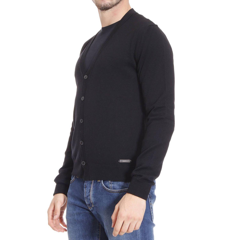 just cavalli sweater man in black for men lyst. Black Bedroom Furniture Sets. Home Design Ideas