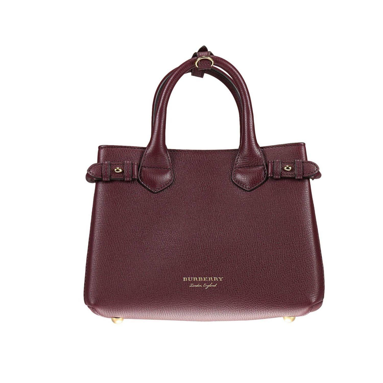 Burberry Shoulder Bag Handbag Women in Purple | Lyst