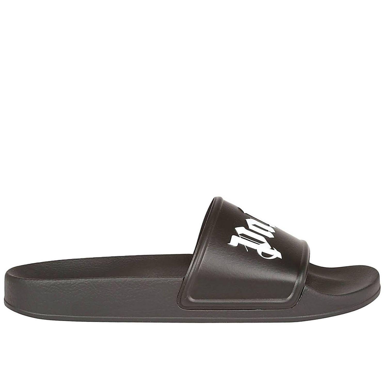 b523595909b3 Lyst - Palm Angels Sandals Men in Black for Men