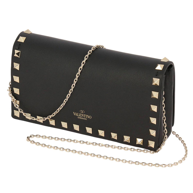 Mini Chain Spike Valentino Lyst Rockstud With Bag Thin q74atwp0