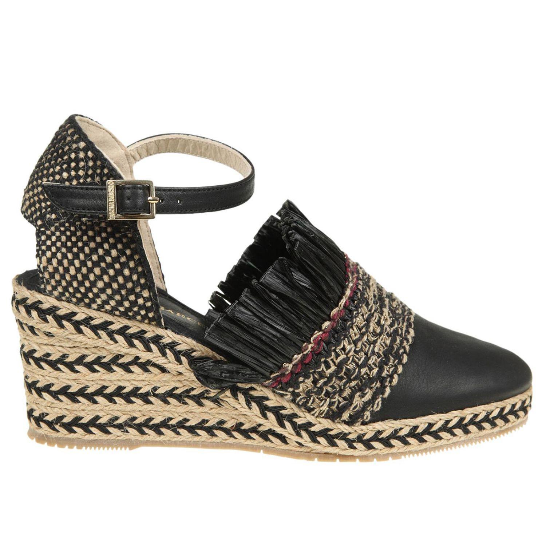 Black Manzanita sandals Paloma Barcel Free Shipping 2018 Cheap Real Buy Cheap Marketable Kduq0mf
