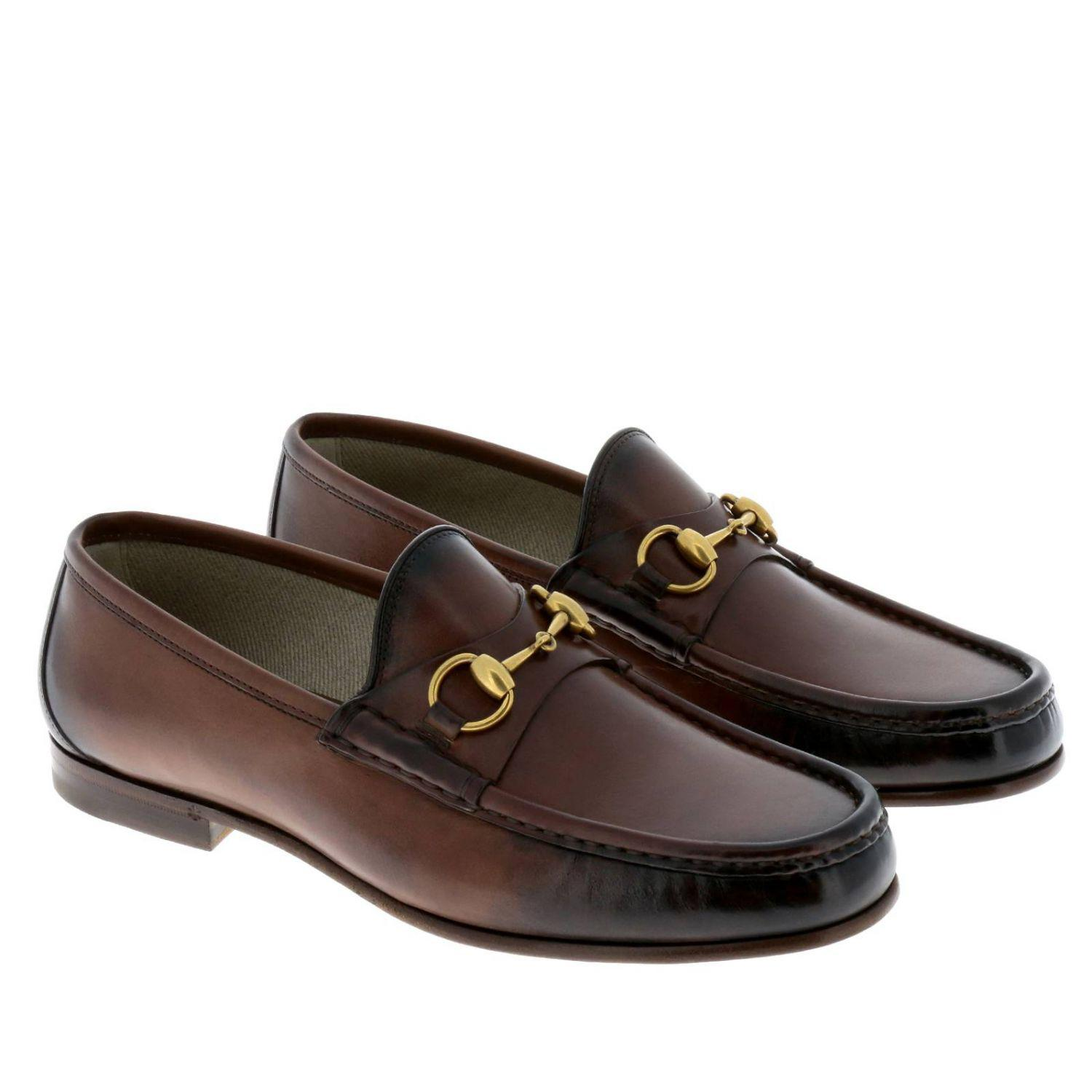 50b6b39a9775 Lyst - Gucci Loafers Shoes Men in Brown for Men
