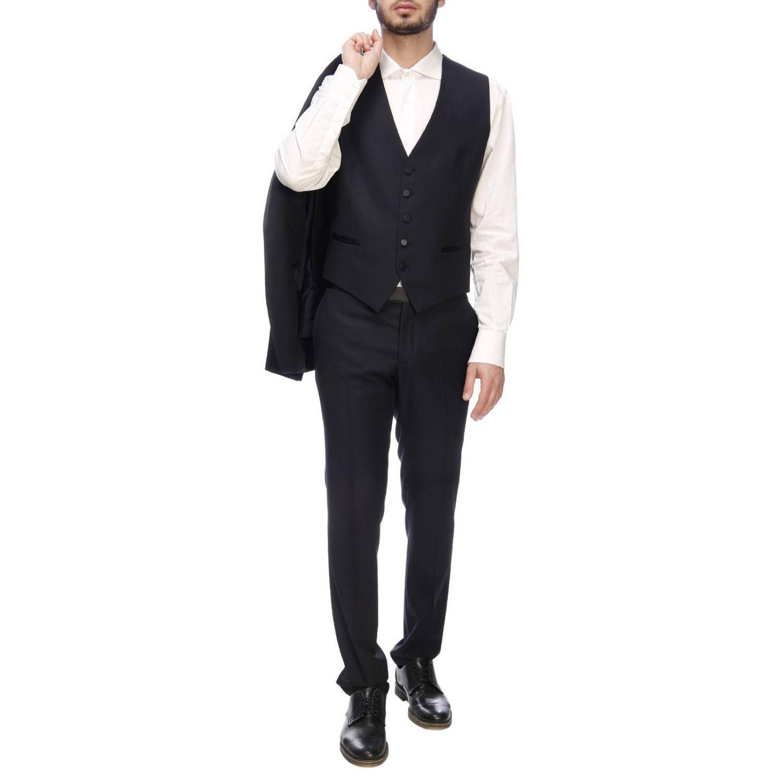 d37f7183cb69 Tagliatore - Blue Suit Men for Men - Lyst. View fullscreen