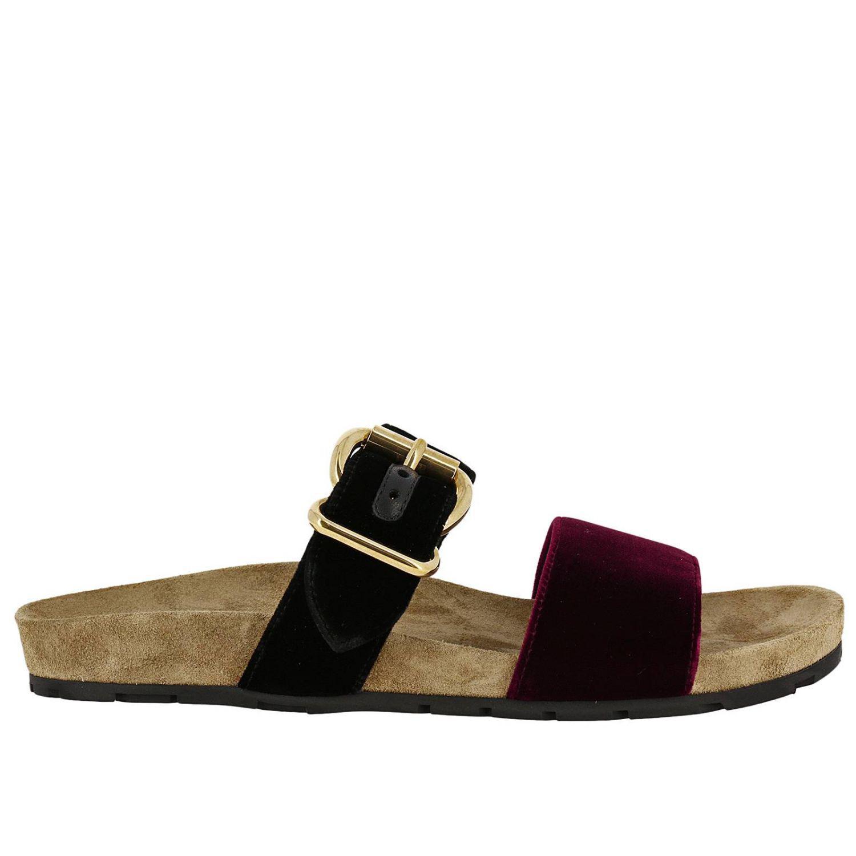 cf6cabccde Prada Shoes Women in Black - Lyst