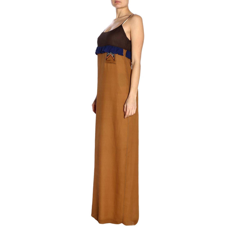 Prada - Multicolor Dress Women - Lyst. View fullscreen 9e8ea602dc