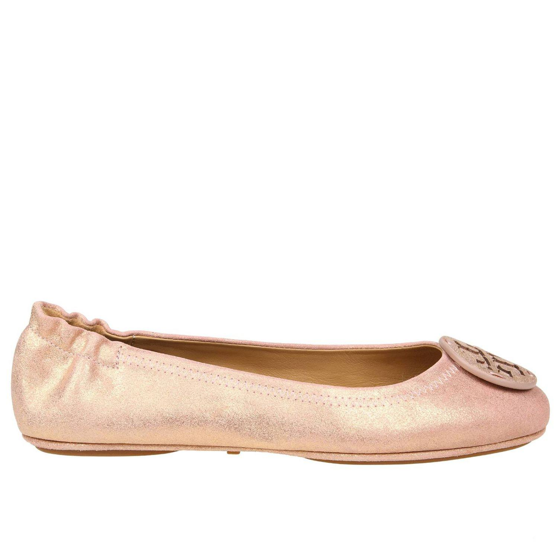 a8a25b84c0a5c6 Lyst - Tory Burch Ballet Flats Women in Pink