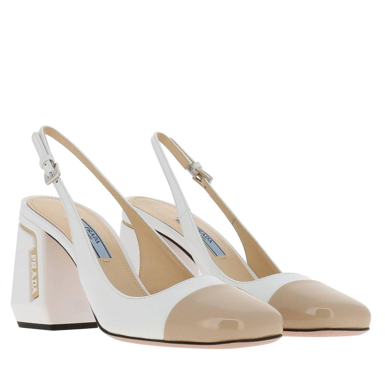 b6ec21ec8b Prada - White Shoes Women - Lyst. View fullscreen
