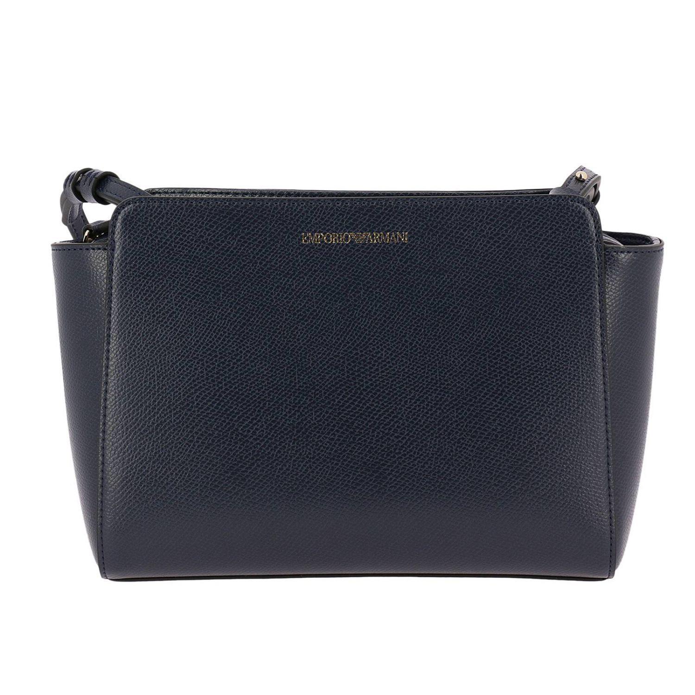 bdcfb38e2eed0 Lyst - Emporio Armani Mini Bag Shoulder Bag Women in Blue