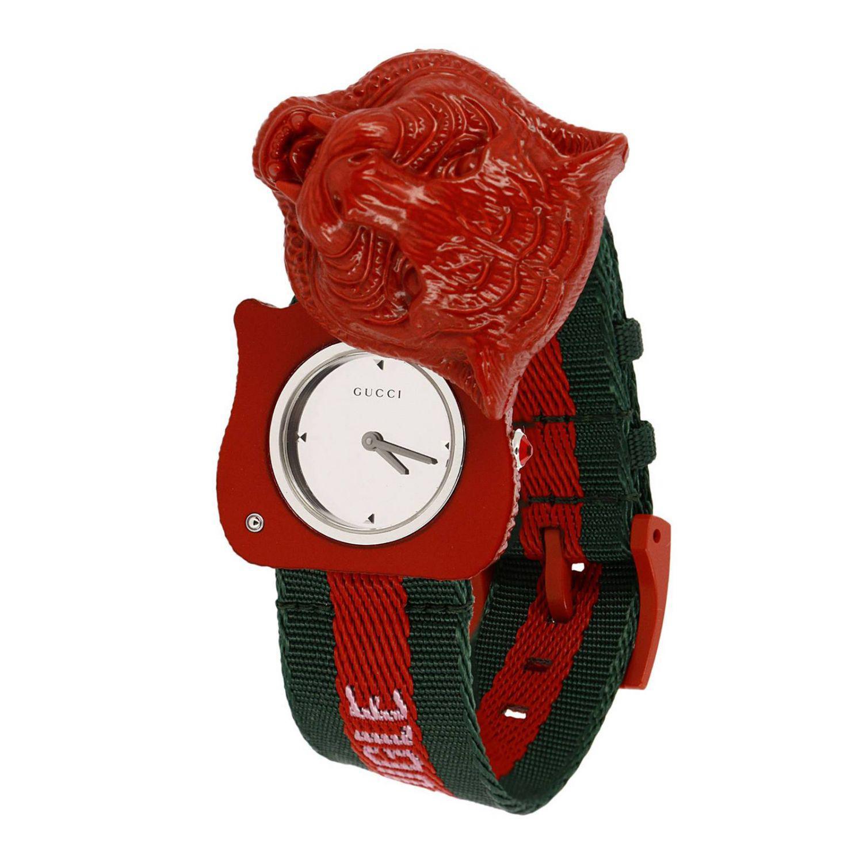 dfb2671de09 Gucci - Red Watch Men for Men - Lyst. View fullscreen